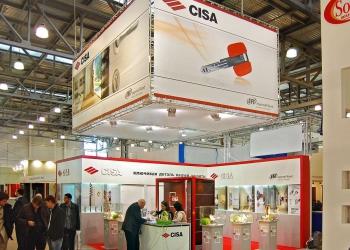 Cisa - выставочный стенд