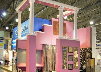 Выставочный стенд компании Декор Буржуа