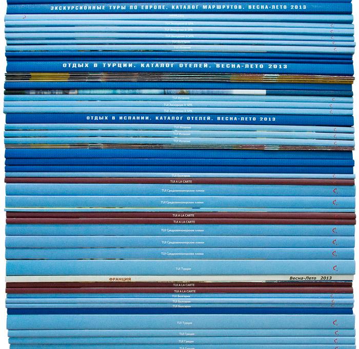 Этой весной мы сделали столько каталогов, что можно покрыть ими Красную Площадь 13 раз!