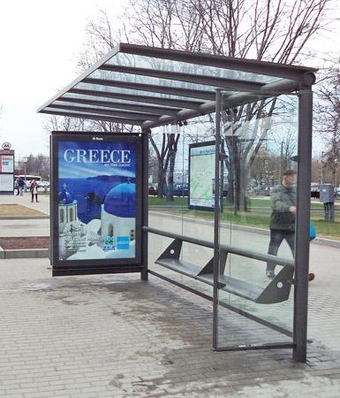 Разместить рекламу в Москве на остановках