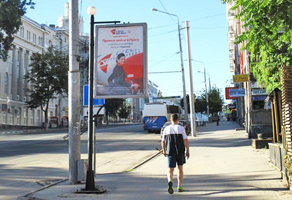 Реклама на сити-форматах в Ростове-на-Дону