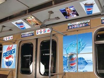 Брендирование в метро