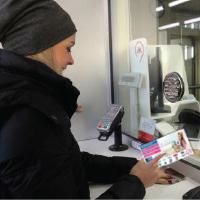 Распространение листовок в метро