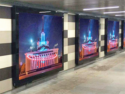Видео в метро реклама