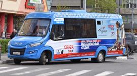 Брендирование маршрутных такси в Москве