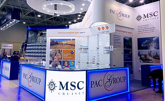Стенд Pac Group