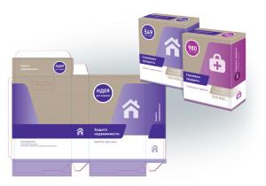 Дизайн концепция упаковки страховых продуктов