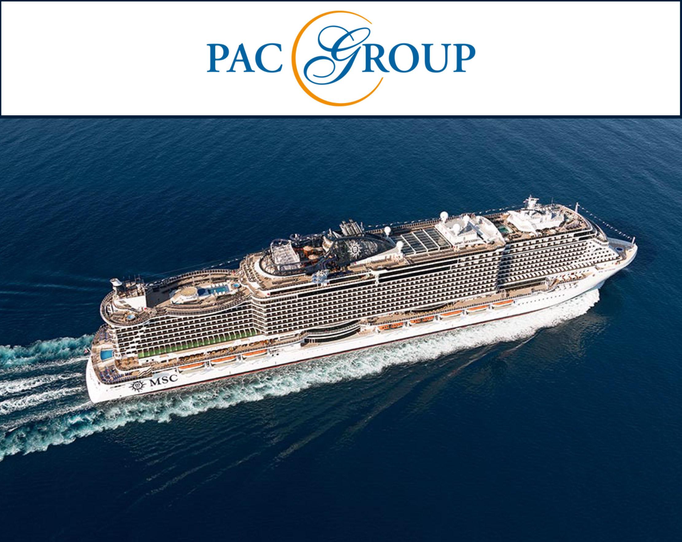 Рекламная кампания PAC GROUP & MSC Cruises